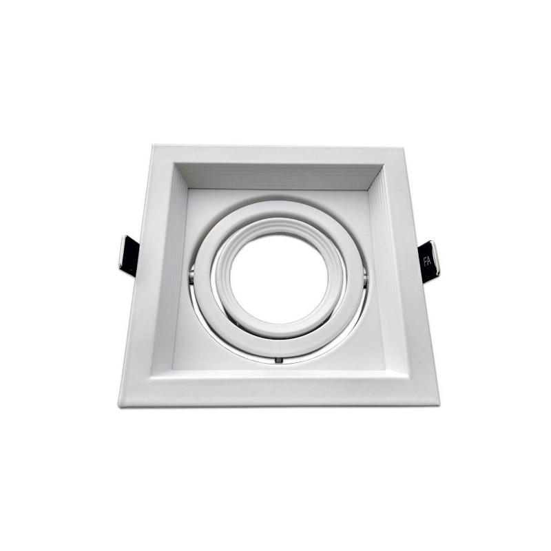 Cadre orientable - MR16, blanc