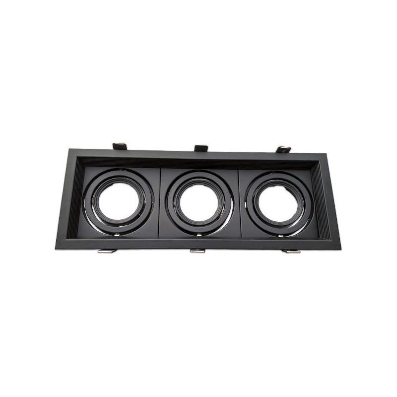 Cadre orientable - MR16, noir