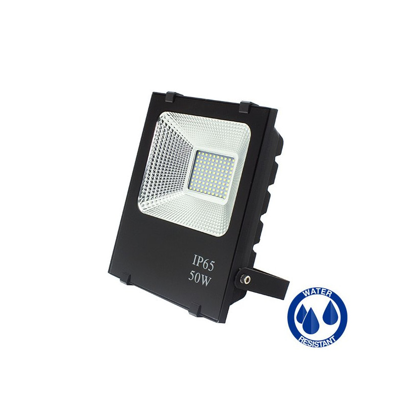 LED Floodlight - SMD, Slim, 50W