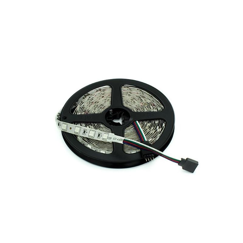 Tira Luz LED 24V RGB 14.4W IP20