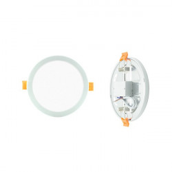 Downlight - Round 8W Panel. Adjustable