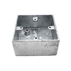 Caja de mecanismos metálica superficie