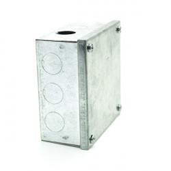 Caixa de junção galvanizada de superfície