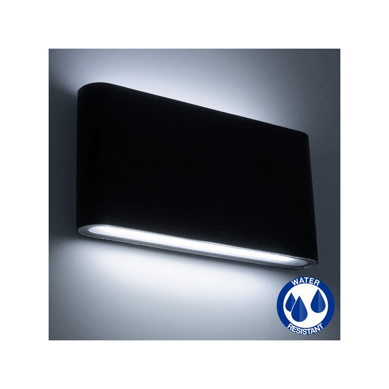 LED wall light 2x6W IP65
