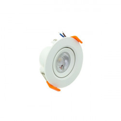 3W round downlight PC series