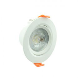 Downlight LED 7W redondo serie PC