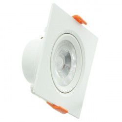 Downlight LED 12W cuadrado serie PC