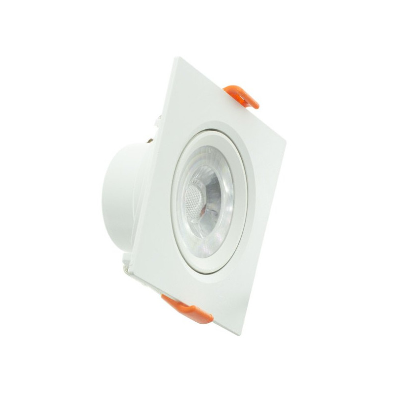 12W square downlight PC series
