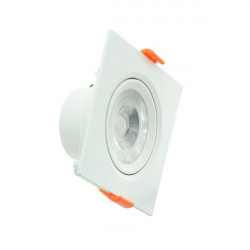 Downlight LED 5W cuadrado serie PC
