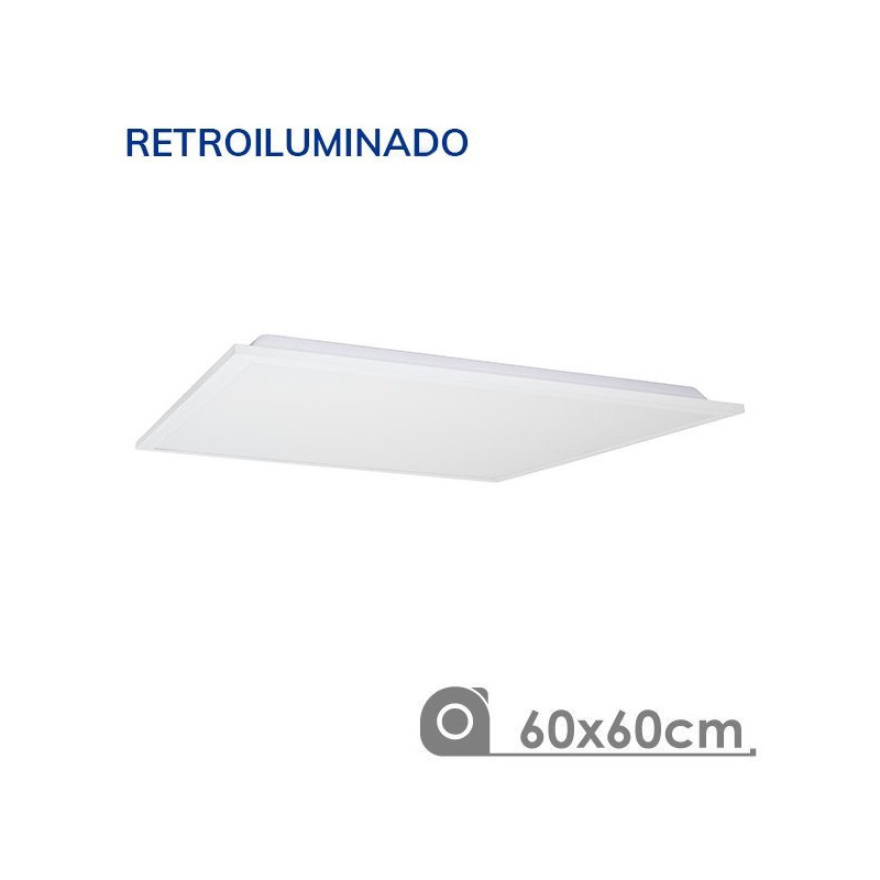 Painel led 60x6 60W moldura branca