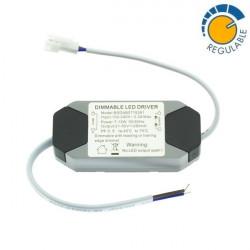 Driver LED ajustável downlight 7W para 15W