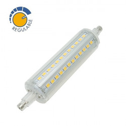 Lámpara LED R7S Regulable 118 mm 360º 10W