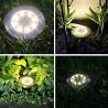 LED solar ground light