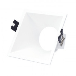 Square flush oval  base for dichroic bulb PC series