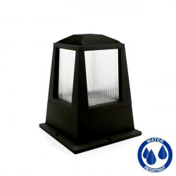 Floor bulkhead lamp E27 IP54 black