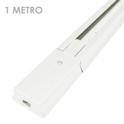 LED Spotlights Rail - Connectable, 1 Metre Long, White