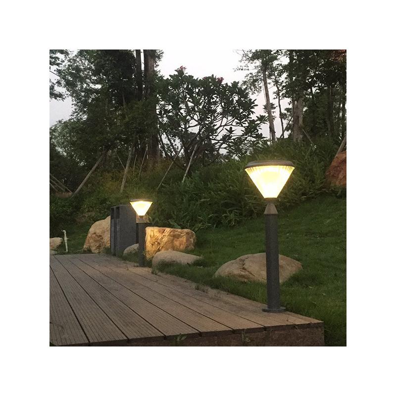 E27 black outdoor wall lamp