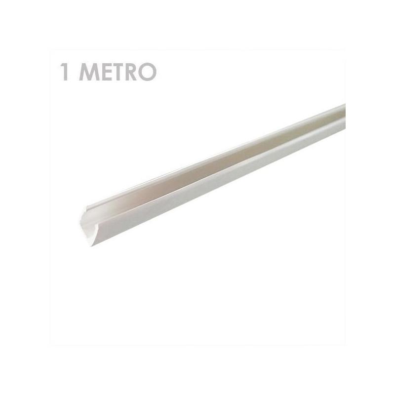 Connectable PVC Rail Connector black- Straight Line