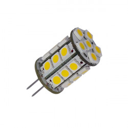 Lâmpada G4 3W bi-pin luz branca quente