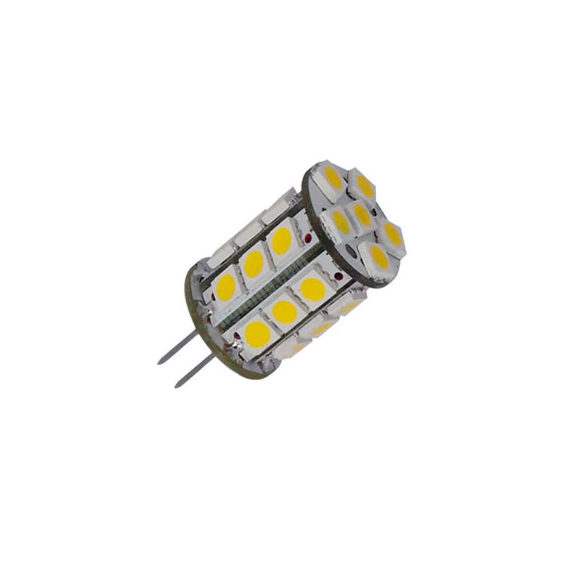 Bombilla G4 3W bi-pin luz cálida