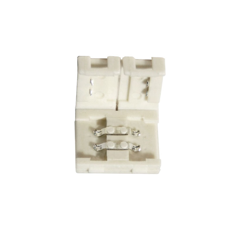Conector unión rígido tira LED 8mm 2 vías