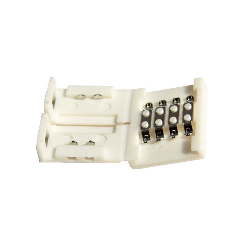 Conector unión rígido tira LED 10mm RGB