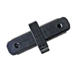 Connectable Rail Connector - Straight Line, Black
