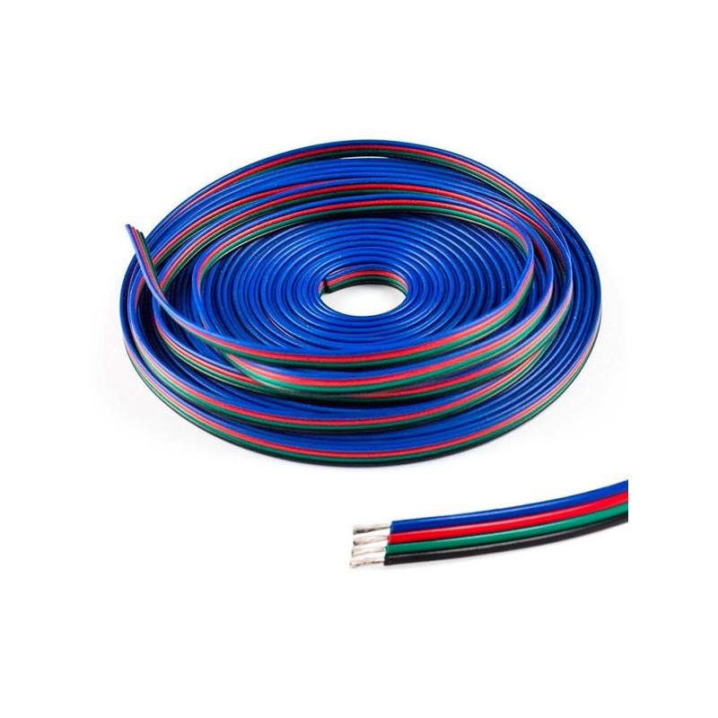 Cable conexión para tiras LED RGB