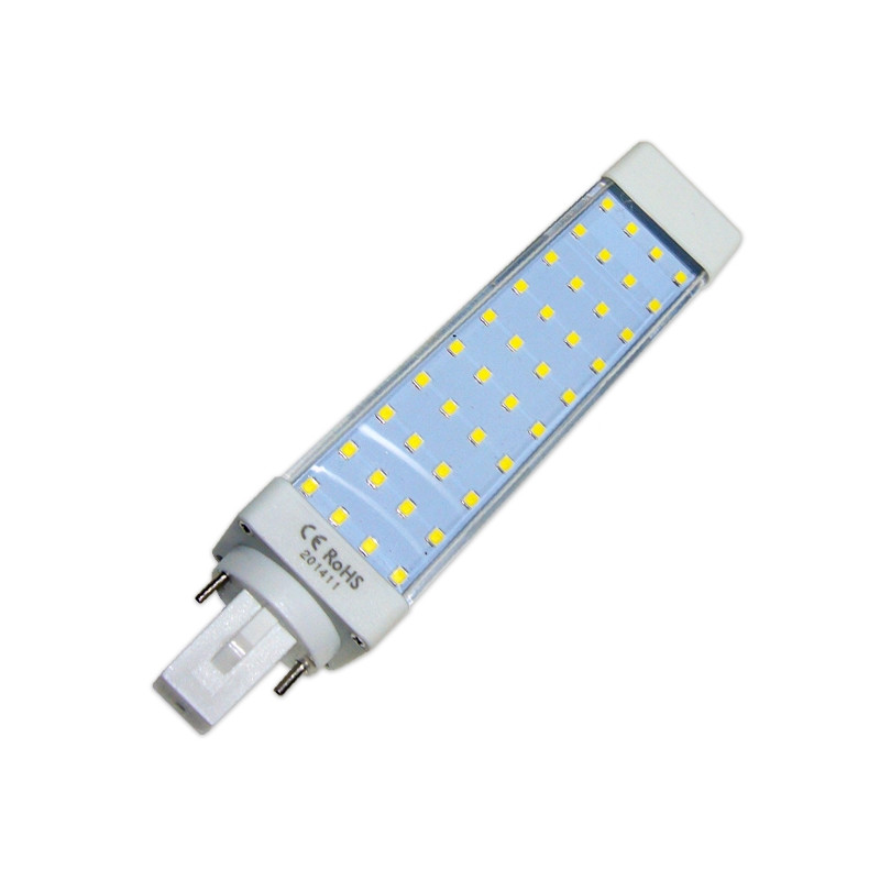Bombilla led G24 (Bi-Pin) 9W