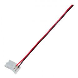 Cable conexão faixa de LED monocromático (2 pin) 8mm