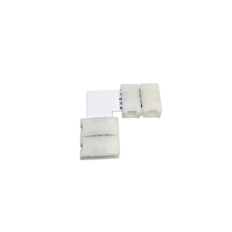 Conector en L tiras 12V 5050 RGB