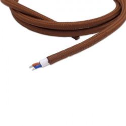"""Cable eléctrico textil """"vintage"""""""