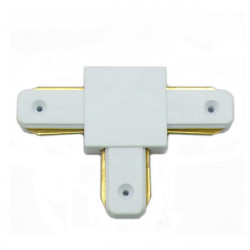 "Connectable Rail Connector - ""T"", White"