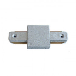 Connectable Rail Connector - Straight Line, Grey