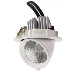 LED Ceiling Spotlight Orientable - 36W, Round