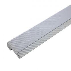Perfil de aluminio tira led para escaleras
