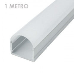 Profile for LED Strips - Rectangular, Aluminium, 20 x 21 x 1000mm