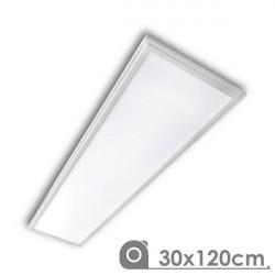 LED Panel - Extra-slim, 40W, 30 x 120 cm white frame