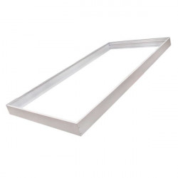 Frame for 60x120 Panel - White-Coloured, Aluminium