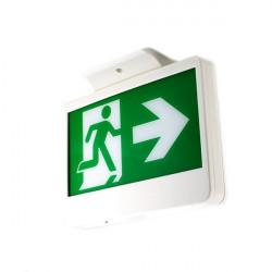 Luminária LED de evacuação de emergência