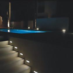 Outdoor step light - G9 base