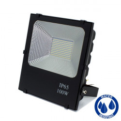 LED Floodlight - SMD, Slim, 100W