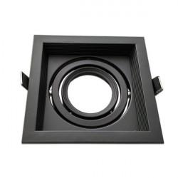 Adjustable black frame for MR16