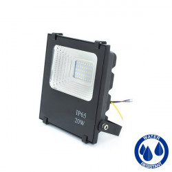 LED Floodlight - SMD, Slim, 20W