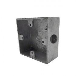 Surface metal switch & socket box