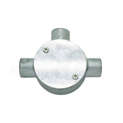 3-way metal conduit box