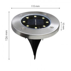 LED solar ground light