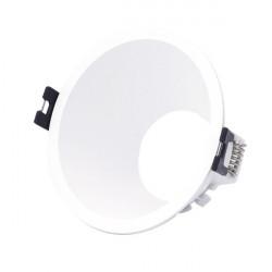 Round flush base for dichroic bulb PC series