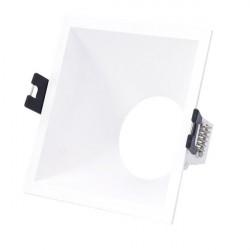 Square flush base for dichroic bulb PC series