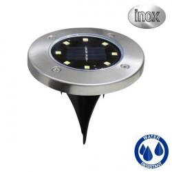 Baliza solar LED de suelo con pincho